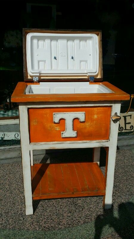 Tennessee cooler we made & donated to St Judes