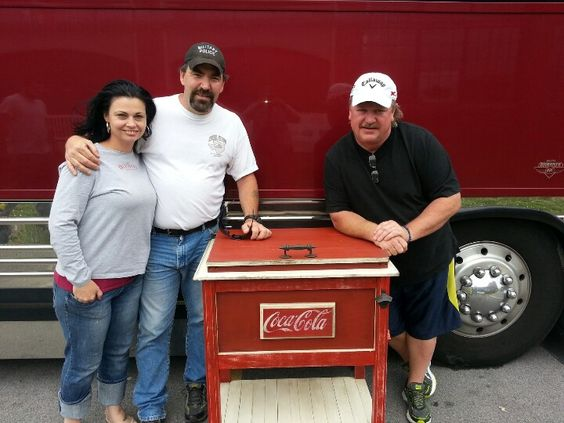 Joe Diffie & Cherie Barker on delivery day