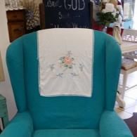After Photo Of Upholstered Chair