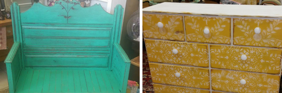 Want to update an old piece of furniture? We can refinish and give new life to your much loved furniture!